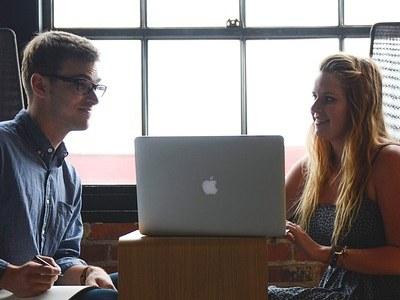 Female Entrepreneur in meeting - IT sector