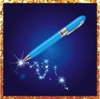 pen sparkle