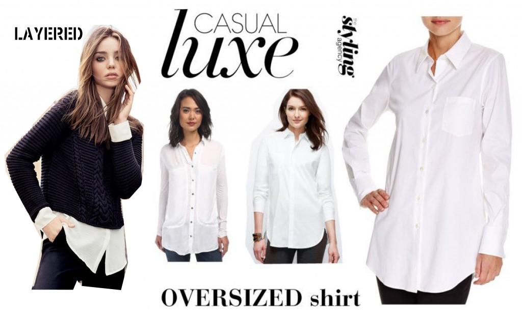 Casual White Shirt StylingAgency