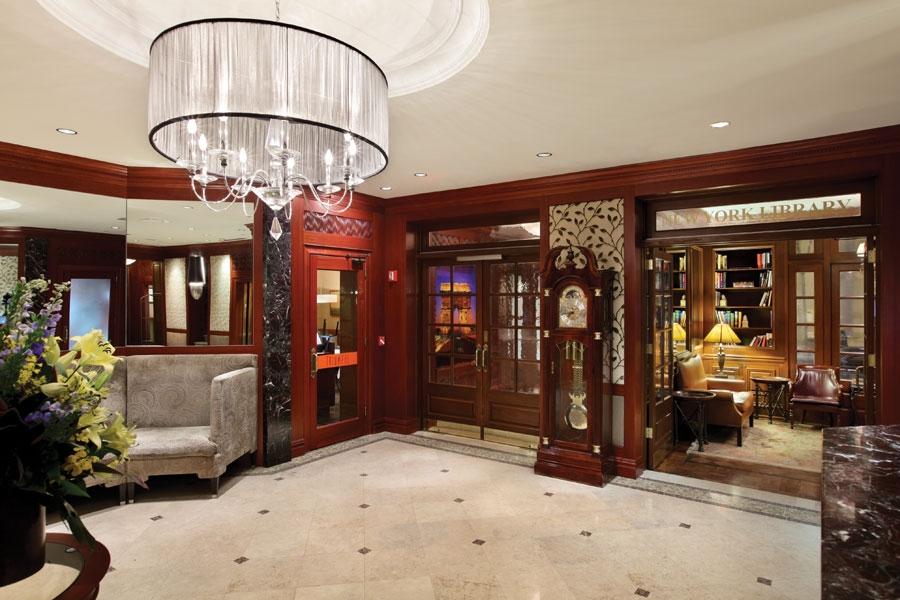 Iroquois Hotel, A Triumph Hotel Lobby
