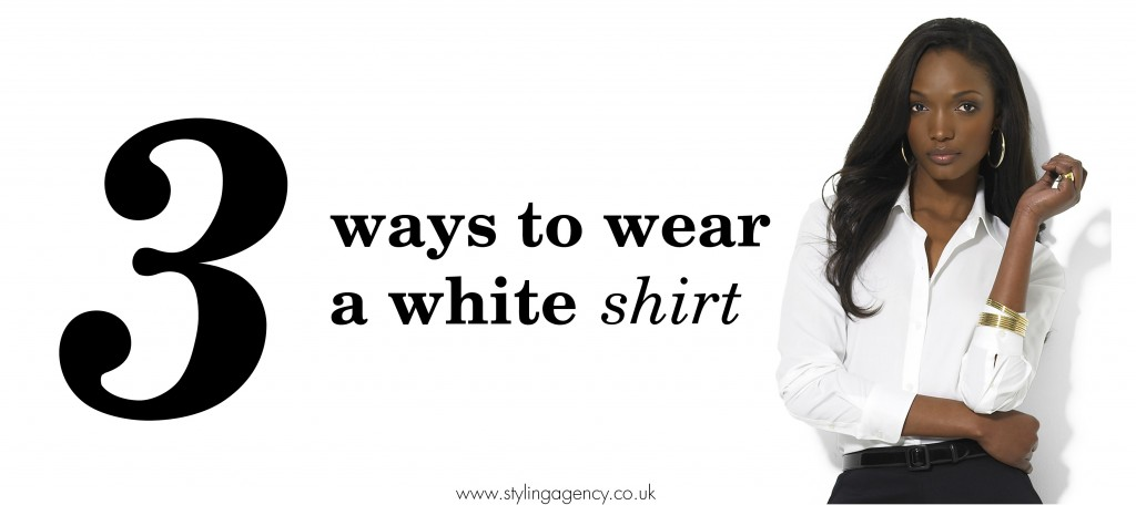 White shirt banner
