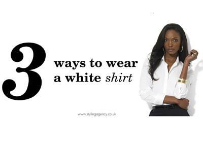 white shirt featured