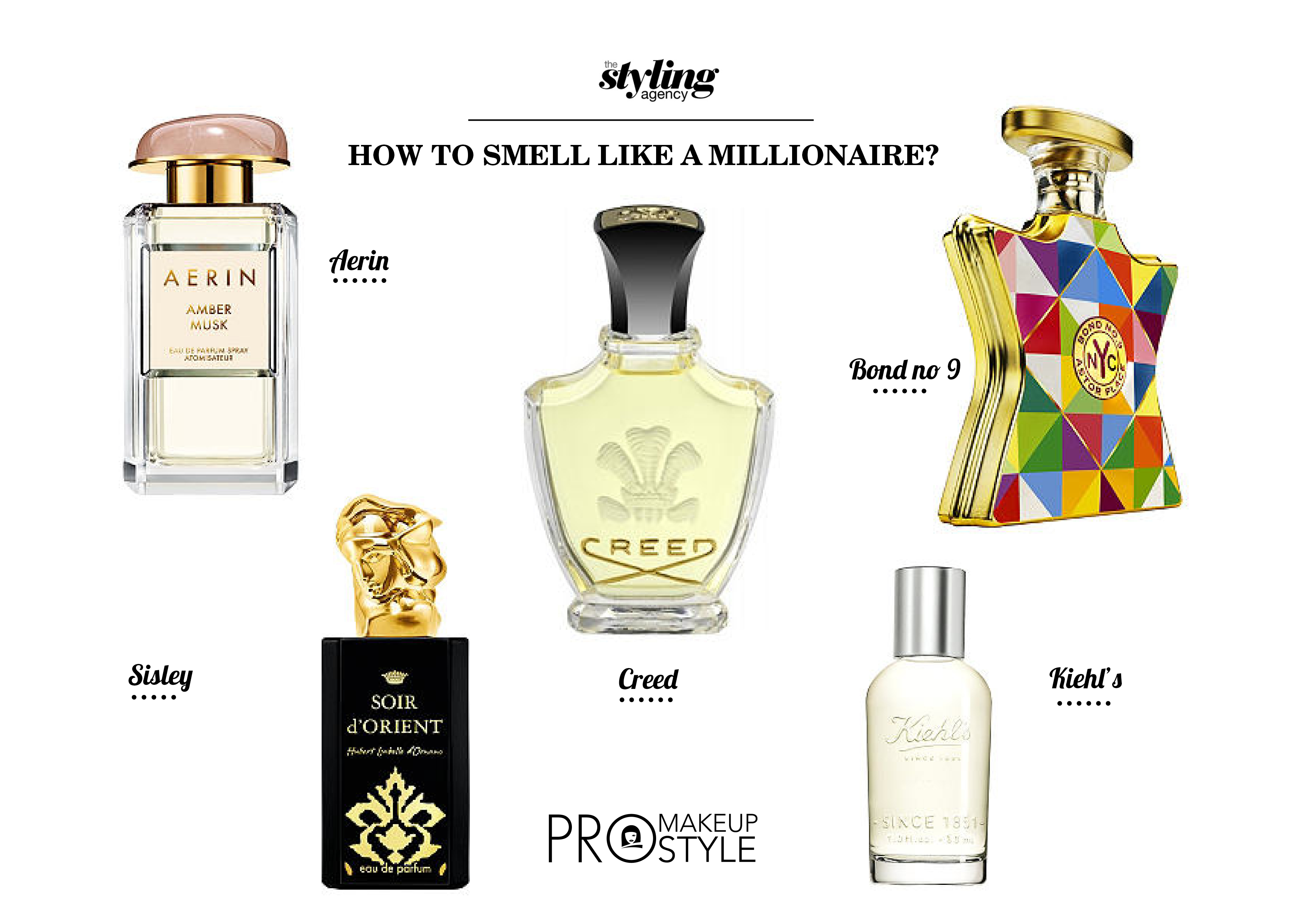 Smell like a million bucks without