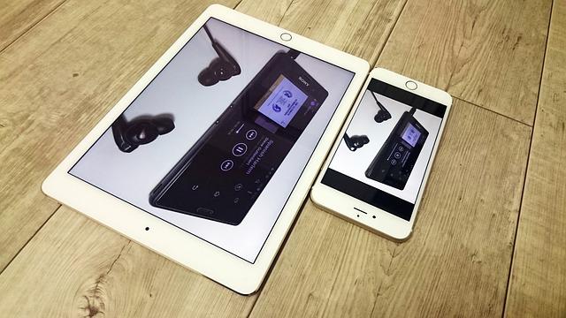 iphone 6 plus and ipad