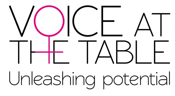 Voice at the Table logo, changing the playing field event