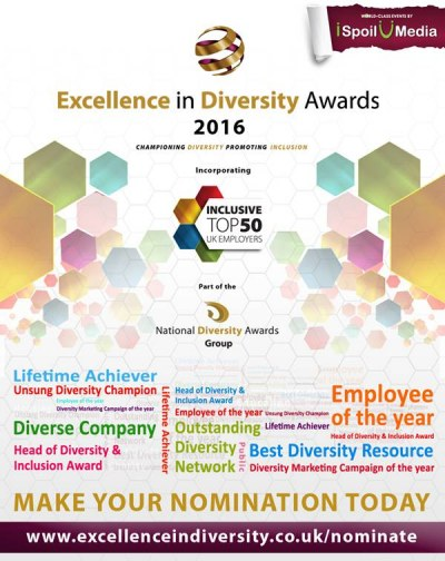 2016 Excellence in Diversity Awards
