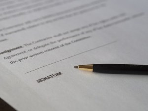signature featured, new business contracts