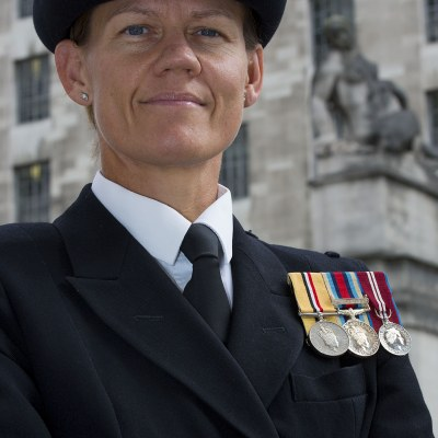 Portrait Of Lt Cdr Samantha Truelove