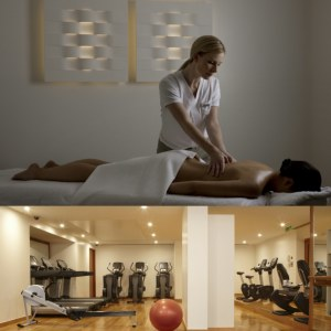 Fitness, massage and gym