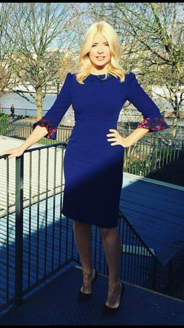 Holly Willoughby wearing Cecily