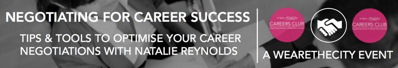 Negotiating for career success-event