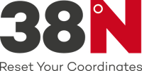 38 degree north logo