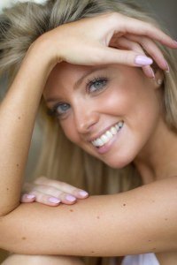 Harriet Hale Smiling