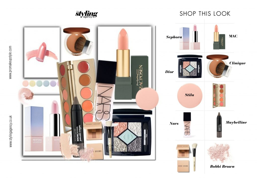 Makeup choices and picks by the styling agency