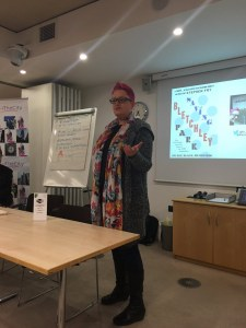 Sue Black at Saving Bletchley Park event