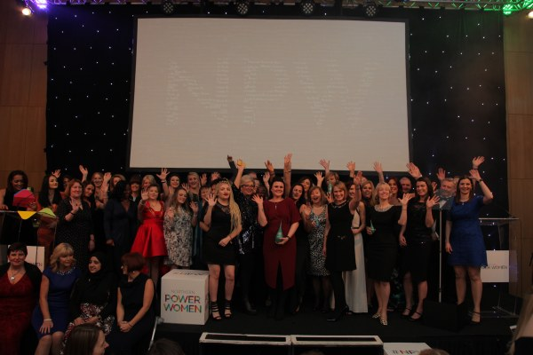 Northern Power women awards full stage of winners