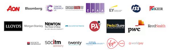 Rising Star awards Category sponsor logos