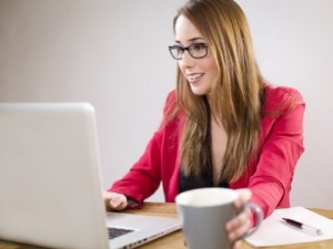 Business woman working - Top 50 Employers for Women