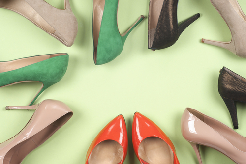 High heel shoe petition
