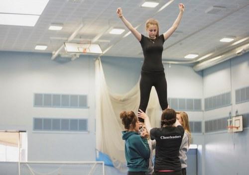 girls cheerleading, sport