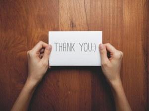 Thank You - Via Shutterstock - Personal Development
