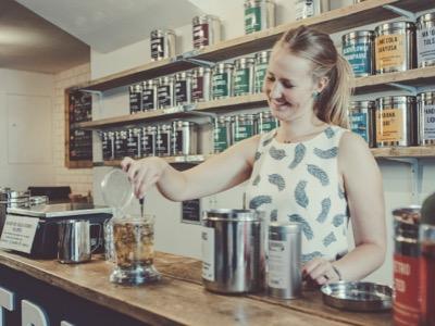 Inspirational Woman- Krisi Smith | Founder of Blue Bird Tea Co.