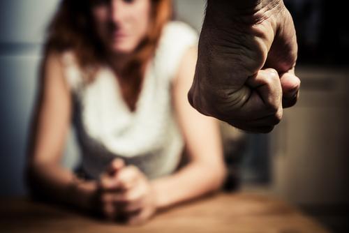 women living in fear of domestic violence, violent crimes