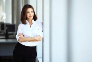 confident working women