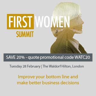 First Women Summit Logo