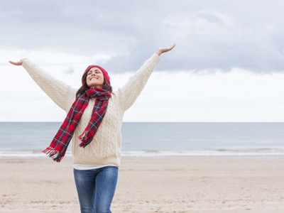 happy-woman-during-winter-winter-blues-featured