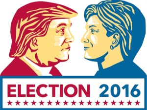 Election: Trump and Clinton