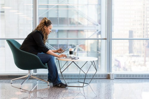 woman-using-a-laptop-in-the-office, gender balance