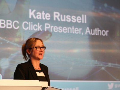 A warm welcome from Kate Russell, BBC Click Presenter & Author