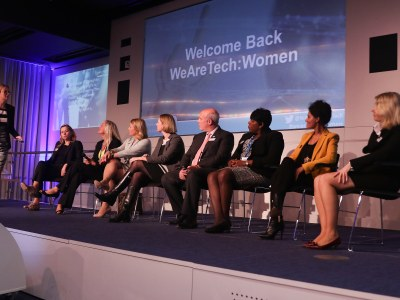 Our Women Lighting the Way panel featuring Maggie van'T Hoff, Christina Scott, Jane Bell, Naheed Afzal, Sheila Flavell, Donna Herdsman & Margarete McGrath