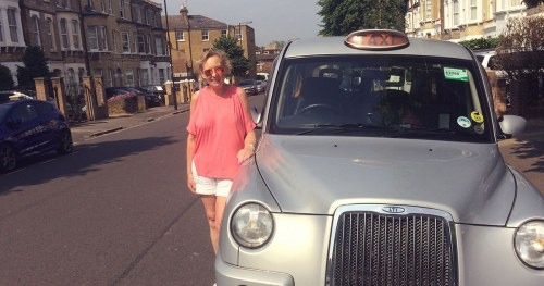 stella, female taxi driver