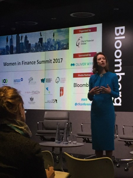 Helena Morrissey at the Women in Finance Summit