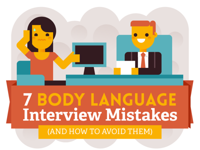 body language interview mistakes featured