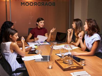 Boardroom, senior leadership