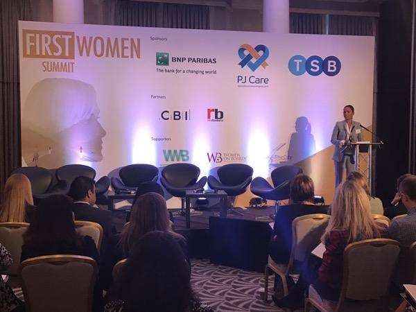 gina miller, first women summit