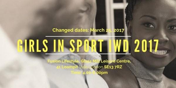 Girls in Sport IWD