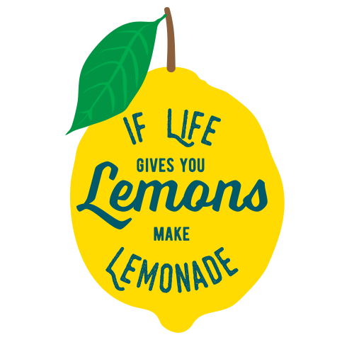 when life gives you lemons make corner floating shelves