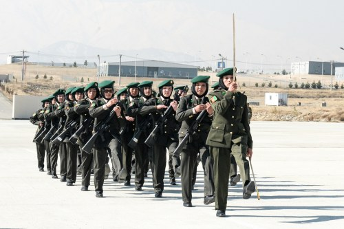 female afghan officers graduate