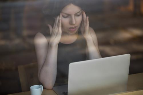 woman with chronic illness