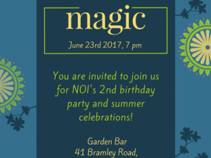Magic | NOI Club event @ Garden Bar | England | United Kingdom
