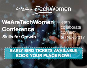 Find out more about the WeAreTechWomen Conference 2017