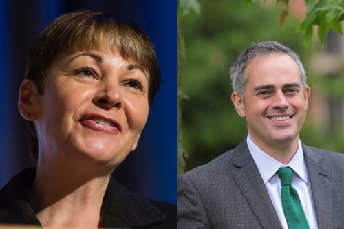 caroline lucas and jon bartley