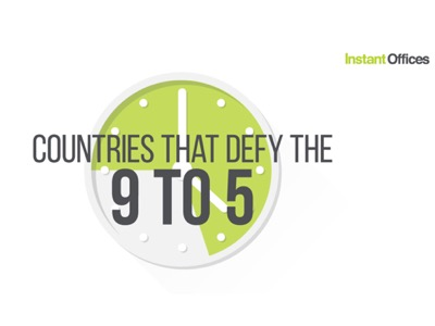 Countries that Defy the 9 - 5 FEATURED