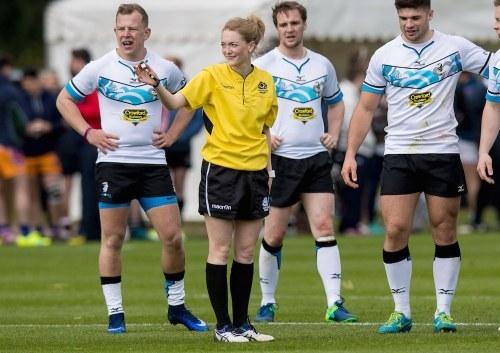 hollie davidson refereeing