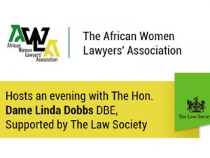Diversity & Leadership in the Legal Profession, with Dame Linda Dobbs @ The Law Society | England | United Kingdom