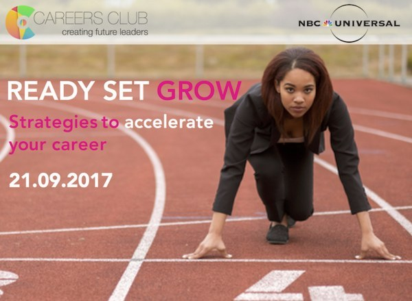 Ready, Set, Grow - Careers Club event